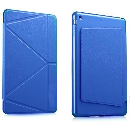 Чехол-книжка Gurdini Premium Leather для Apple iPad Air 2 (полиуретан с подставкой) синийдля Apple iPad Air 2<br>Чехол-книжка Gurdini Premium Leather для Apple iPad Air 2 (полиуретан с подставкой) синий<br>