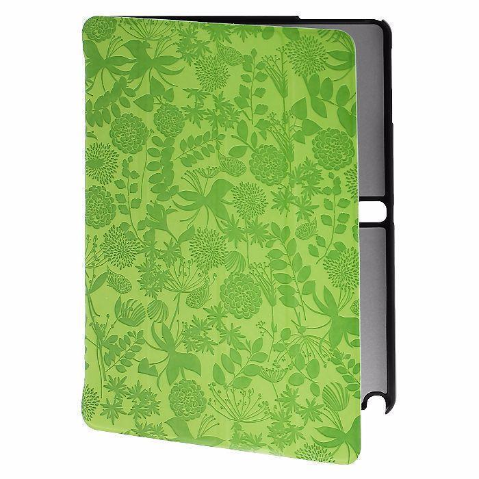 Чехол-книжка Gissar Flora для Samsung Galaxy Tab 3 10.1 (P5200/P5210) натуральная кожа с зеленый
