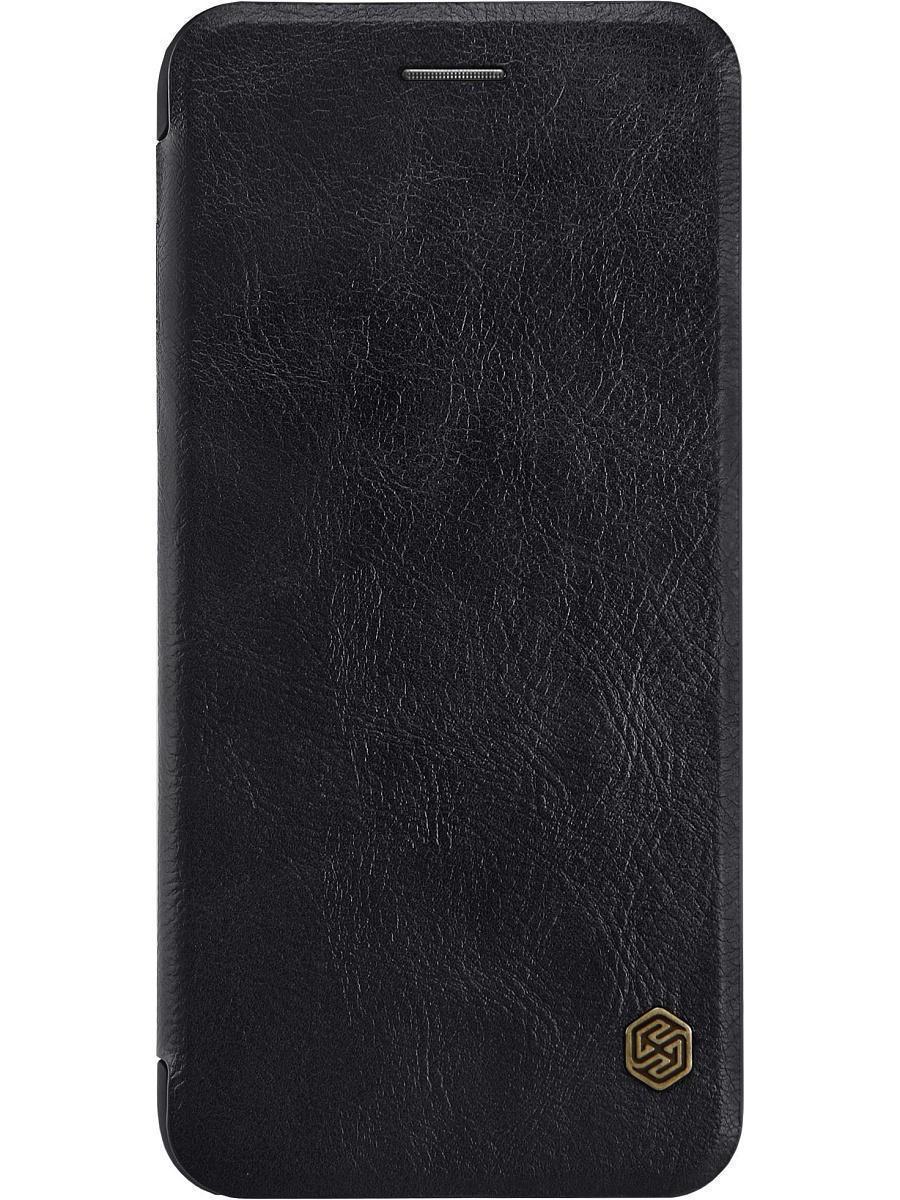 Чехол-книжка Nillkin QIN Leather Case для Apple iPhone 7/8 натуральная кожа черныйдля iPhone 7/8<br>Чехол-книжка Nillkin QIN Leather Case для Apple iPhone 7/8 натуральная кожа черный<br>