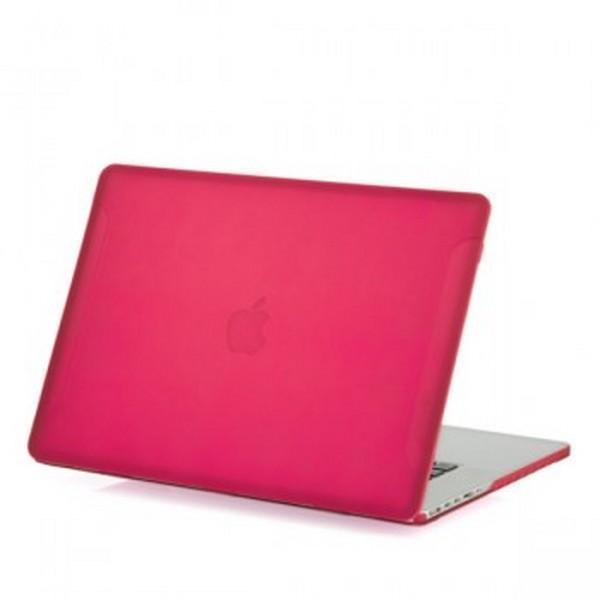 Купить Чехол-накладка BTA-Workshop для Apple MacBook Pro Retina 13 (2012-2015) матовый (прозрачно-розовый)