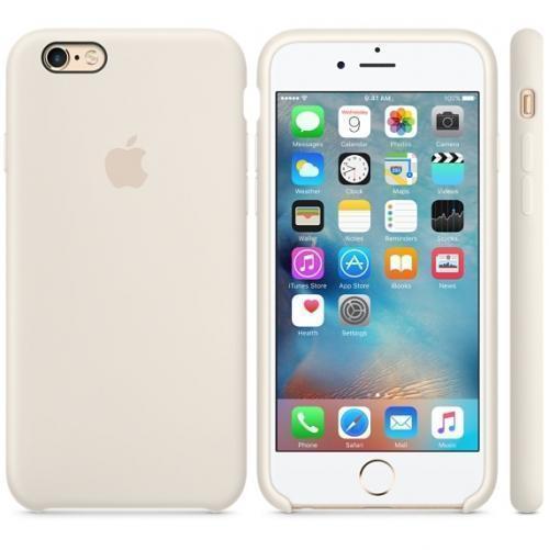 Чехол-накладка Apple Silicone Case для iPhone 6/6s силиконовый мраморно-белый (MLCX2ZM/A)для iPhone 6/6S<br>Чехол-накладка Apple Silicone Case для iPhone 6/6s силиконовый мраморно-белый (MLCX2ZM/A)<br>
