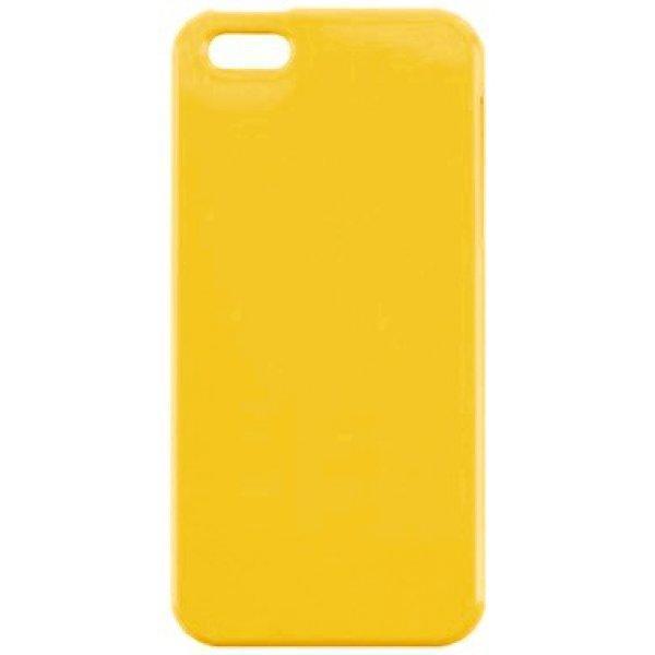 Чехол-накладка Red Angel Ultra-Thin High Strength для Apple iPhone SE/5S/5 пластиковый желтыйдля iPhone 5/5S/SE<br>Чехол-накладка Red Angel Ultra-Thin High Strength для Apple iPhone SE/5S/5 пластиковый желтый<br>