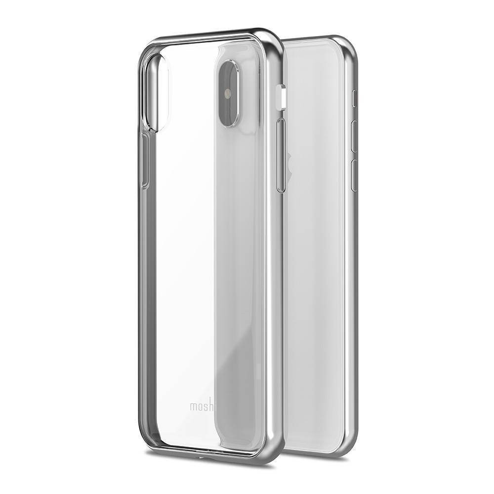 Чехол-накладка Devia Crystal Shell case Swarovski для Apple iPhone X (10) Silver (305498)для iPhone X<br>Чехол-накладка Devia Crystal Shell case Swarovski для Apple iPhone X (10) Silver (305498)<br>