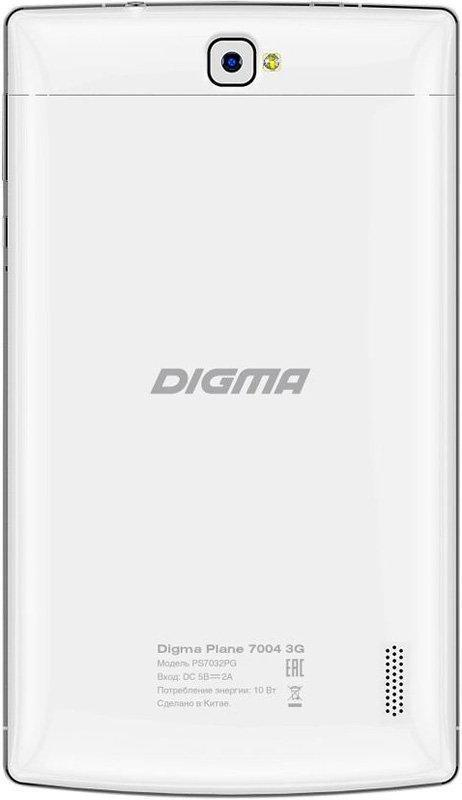 Digma Plane 7004 3G WhiteDigma<br>Digma Plane 7004 3G White<br>