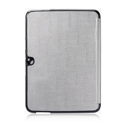 Чехол-книжка Gissar Metallic для Samsung Galaxy Tab 3 10.1 (P5200/P5210) натуральная кожа серыйдля Samsung<br>Чехол-книжка Gissar Metallic для Samsung Galaxy Tab 3 10.1 (P5200/P5210) натуральная кожа серый<br>