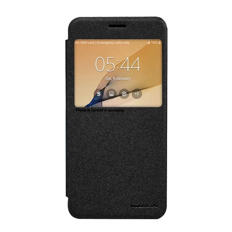 Чехол-книжка Nillkin Sparkle Series для Samsung Galaxy On7/G6000/G600/O7/Mega O7 5.5  черныйдля Samsung<br>Чехол-книжка Nillkin Sparkle Series для Samsung Galaxy On7/G6000/G600/O7/Mega O7 5.5  черный<br>