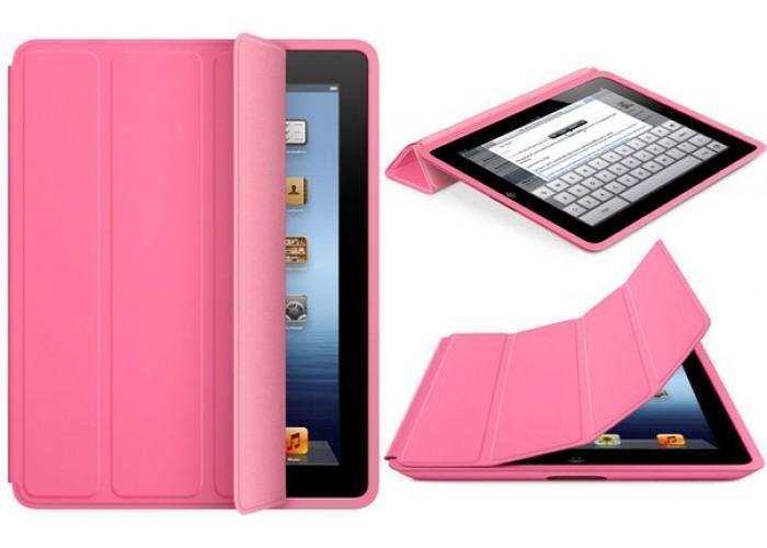 Чехол-книжка Smart Case для Apple iPad mini 1/2/3 (искусственная кожа с подставкой) розовыйдля Apple iPad mini 1/2/3<br>Чехол-книжка Smart Case для Apple iPad mini 1/2/3 (искусственная кожа с подставкой) розовый<br>