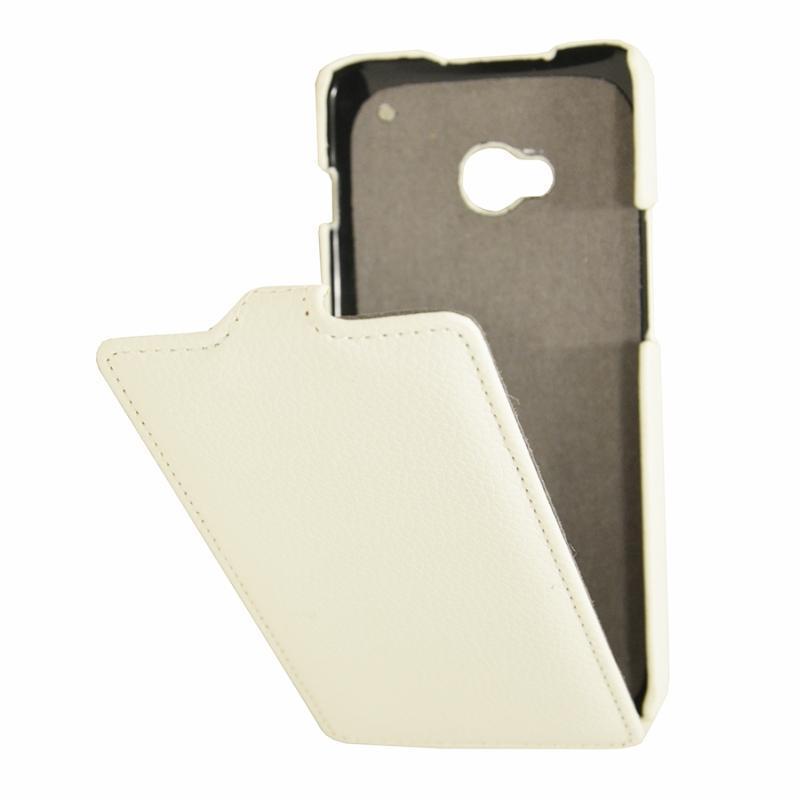 Чехол-книжка Armor Case для HTC One M7 Dual Sim искусственная кожа белыйдля HTC<br>Чехол-книжка Armor Case для HTC One M7 Dual Sim искусственная кожа белый<br>