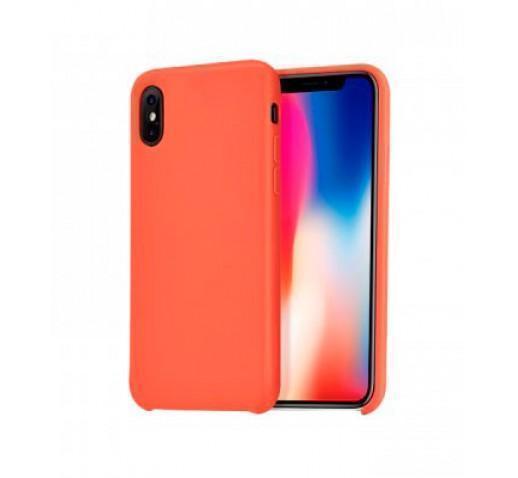 Чехол-накладка Hoco Pure Series для Apple iPhone X оранжевый