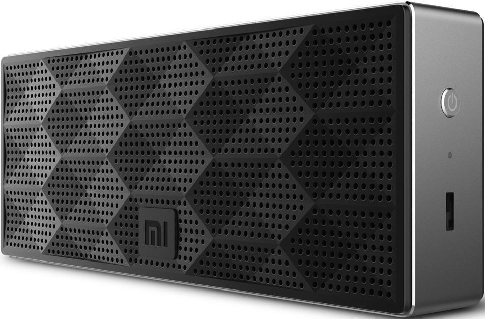 Портативная колонка Xiaomi Mi Square Box Speaker Bluetooth BlackПортативная акустика, Колонки<br>Портативная колонка Xiaomi Mi Square Box Speaker Bluetooth Black<br>