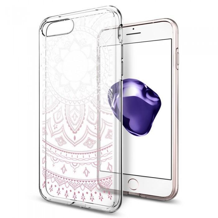 Чехол-накладка Spigen Liquid Crystal для Apple iPhone 7 Plus/8 Plus Shine Pink (SGP 043CS20960)