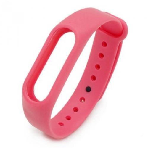 Ремешок силиконовый для фитнес трекера Xiaomi Mi Band 2 pinkРемешки и браслеты для умных часов и фитнес-браслетов Xiaomi<br>Ремешок силиконовый для фитнес трекера Xiaomi Mi Band 2 pink<br>