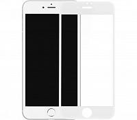 Купить Защитное стекло Tempered Glass (9D) для Apple iPhone 7 Plus/8 Plus цветное (белая рамка)