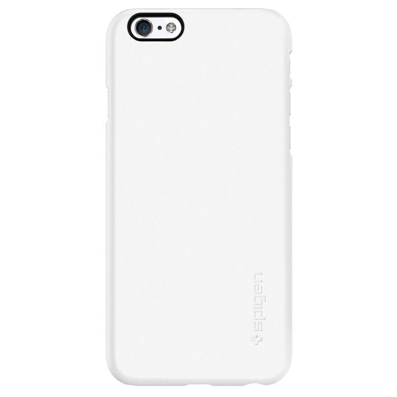 Чехол-накладка Spigen Thin Fit для Apple iPhone 6/6S пластиковый (Smooth White) SGP10937 фото