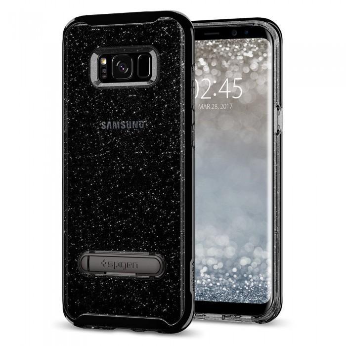 Чехол-накладка Spigen Crystal Hybrid Glitter для Samsung Galaxy S8+ space кварц (SGP 571CS21286)для Samsung<br>Чехол-накладка Spigen Crystal Hybrid Glitter для Samsung Galaxy S8+ space кварц (SGP 571CS21286)<br>