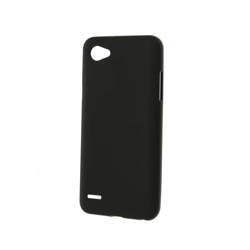 Чехол-накладка New Case для LG Q6/Q6 Plus силиконовый (черный) фото