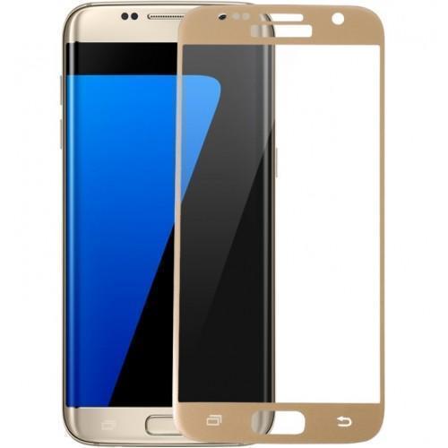 Защитное стекло Glass PRO (Full) Screen для Samsung Galaxy S7 (SM-G930) цветное золотая рамкадля Samsung<br>Защитное стекло Glass PRO (Full) Screen для Samsung Galaxy S7 (SM-G930) цветное золотая рамка<br>