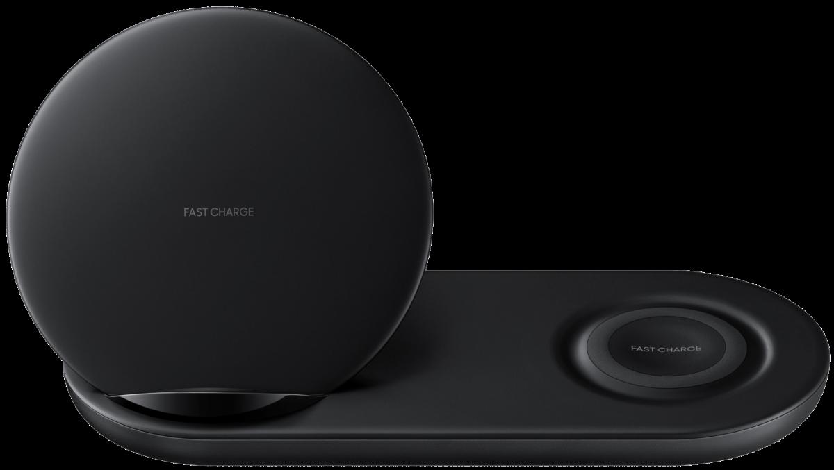 Беспроводное зарядное устройство Samsung Wireless Charger Duo (Black) (EP-N6100TBRGRU)