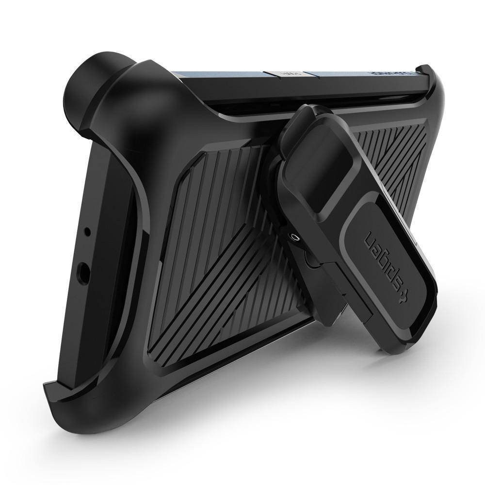 Чехол-держатель-кобура Spigen Belt Clip SGP11532 для Samsung Galaxy S6/S6 Edge пластик резина Черный