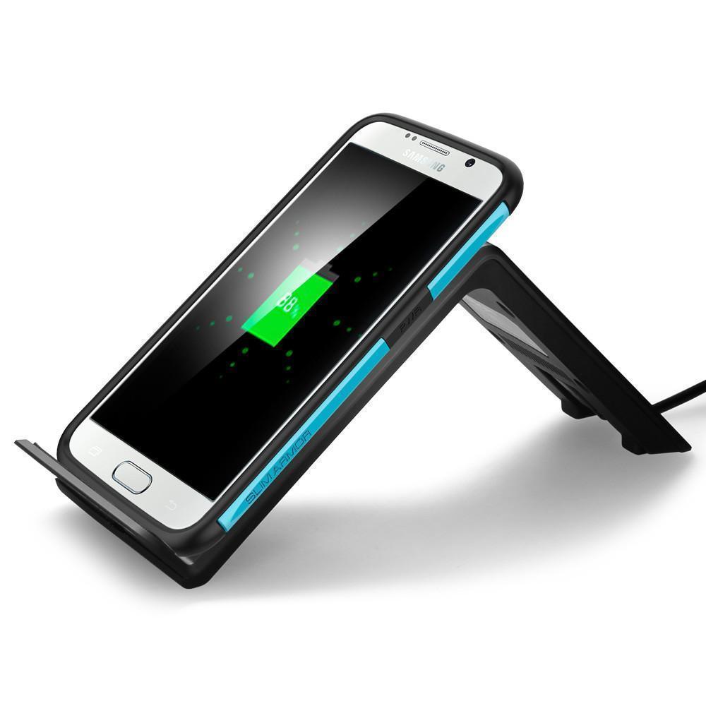 Беспроводная зарядка Spigen F300W для Samsung SGP11480 (черный)