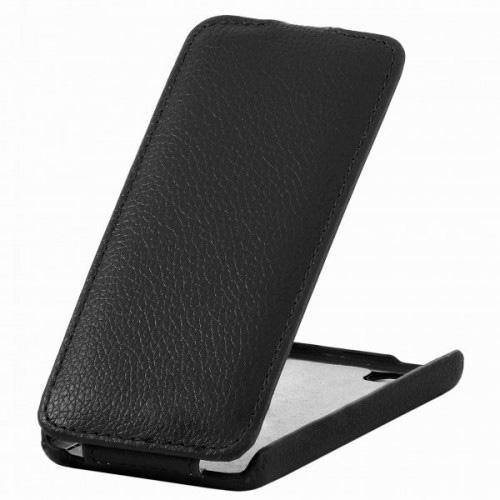 Чехол-книжка Armor Flip Case для Huawei Ascend Y330 искусственная кожа черный