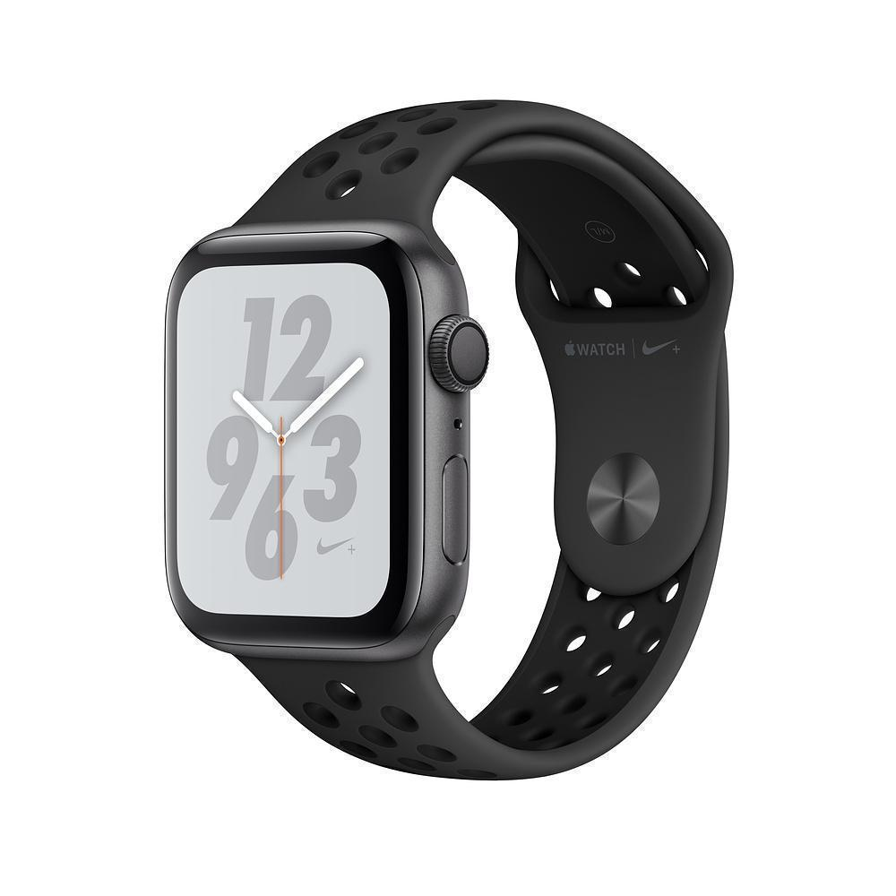 Apple Watch Nike+ Series 4 40mm (GPS) Space Gray Aluminum Case with Anthracite/Black Nike Sport Band MU6J2