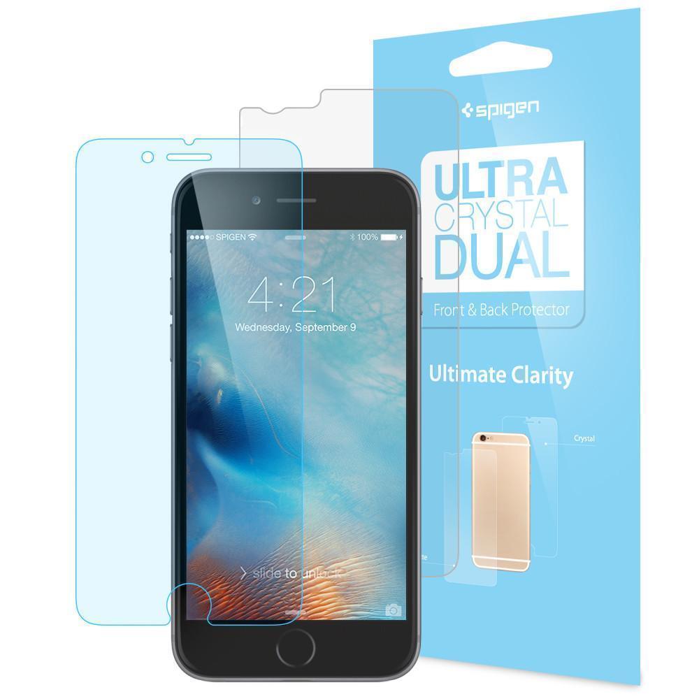 Защитная пленка Spigen SGP11632 Ultra Crystal Dual Steinheil для Apple iPhone 6 Plus/6S Plusдля iPhone 6 Plus/6S Plus<br>Защитная пленка Spigen SGP11632 Ultra Crystal Dual Steinheil для Apple iPhone 6 Plus/6S Plus<br>