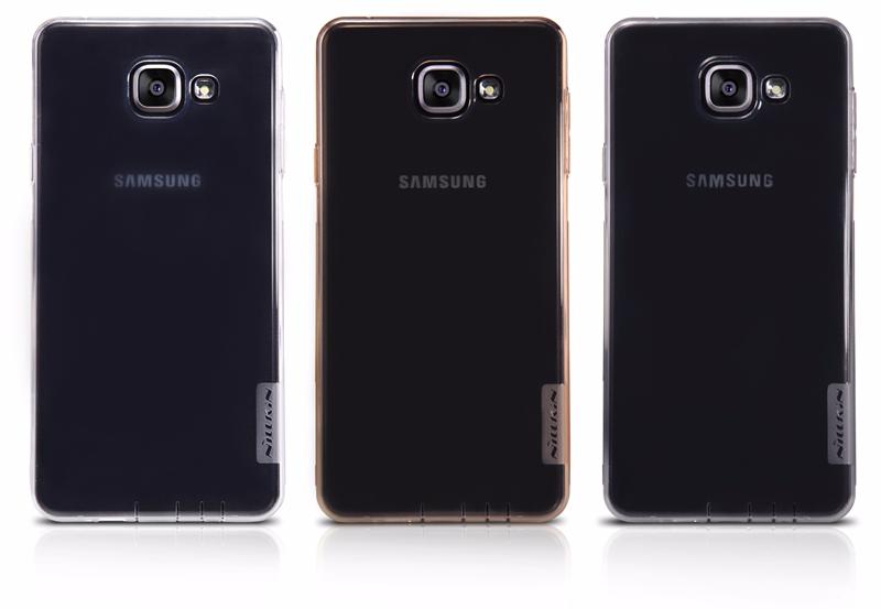 Чехол-накладка Nillkin Nature для Samsung Galaxy A7 (2016) SM-A710 силиконовый прозрачно-черныйдля Samsung<br>Чехол-накладка Nillkin Nature для Samsung Galaxy A7 (2016) SM-A710 силиконовый прозрачно-черный<br>