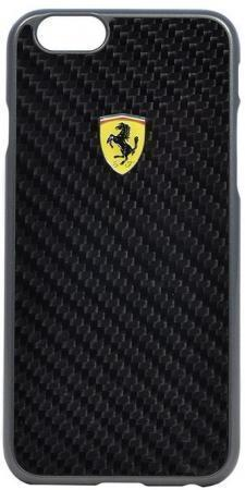 Чехол-накладка Ferrari Formula One Hard Carbon для Apple iPhone 6 Plus/6S Plus (Black)