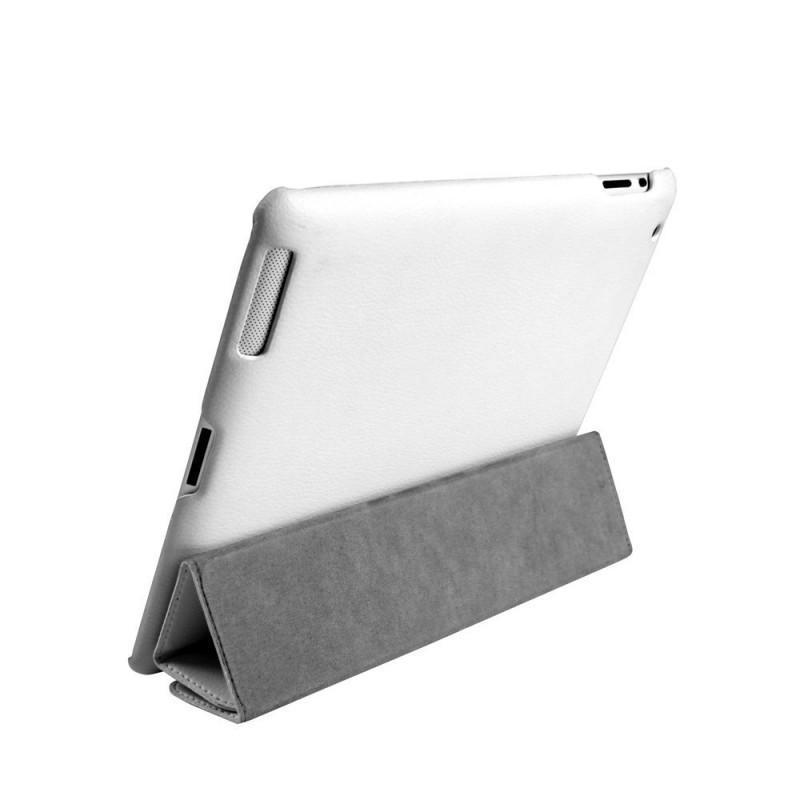 Чехол-книжка JustCase Premium для Apple iPad Air (искусственная кожа с подставкой) белыйдля Apple iPad Air<br>Чехол-книжка JustCase Premium для Apple iPad Air (искусственная кожа с подставкой) белый<br>