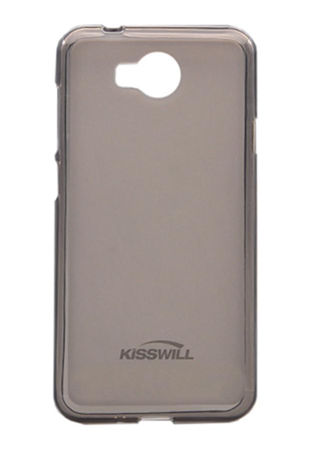 Чехол-накладка Jekod/KissWill для Huawei Y5C / Ascend Y541 силиконовый матовый прозрачно-черныйдля Huawei<br>Чехол-накладка Jekod/KissWill для Huawei Y5C / Ascend Y541 силиконовый матовый прозрачно-черный<br>