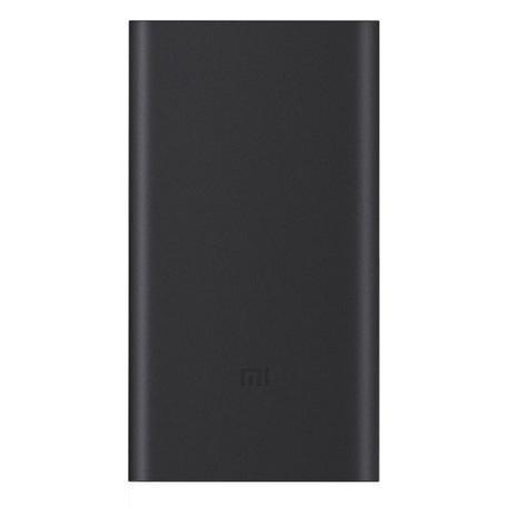 Купить со скидкой Универсальный внешний аккумулятор Xiaomi Mi Power Bank 2 10000 mAh, 2.4 А, USBx1 металл Black