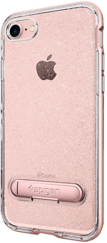 Чехол-накладка Spigen Neo Hybrid Crystal Glitter для Apple iPhone 7/8 розовый кварц (SGP 042CS21213)для iPhone 7/8<br>Чехол-накладка Spigen Neo Hybrid Crystal Glitter для Apple iPhone 7/8 розовый кварц (SGP 042CS21213)<br>