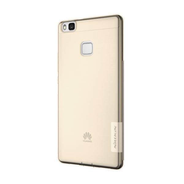 Чехол-накладка Nillkin Nature 0.6mm для Huawei P9 Lite силиконовый прозрачно-золотойдля Huawei<br>Чехол-накладка Nillkin Nature 0.6mm для Huawei P9 Lite силиконовый прозрачно-золотой<br>