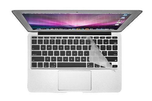 "Накладка силиконовая на клавиатуру Rock Keyboard Cover Skin для Apple MacBook 13"" прозрачная"