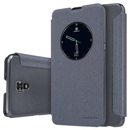 Чехол-книжка Nillkin Sparkle Series для LG X View  (K500DS) пластик-полиуретан (черный)для LG<br>Чехол-книжка Nillkin Sparkle Series для LG X View  (K500DS) пластик-полиуретан (черный)<br>