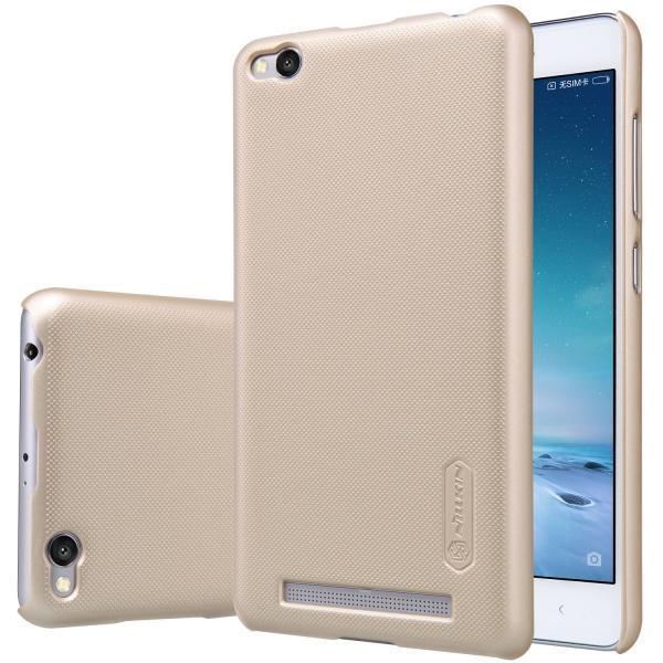 Купить Чехол-накладка Nillkin Frosted Shield для Xiaomi Redmi 3 пластиковый (золотой)