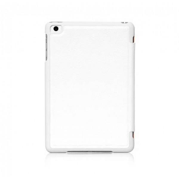 Чехол-книжка Hoco Litchi Leather Series для Apple iPad mini 1/2/3 (искусственная с подставкой) белыйдля Apple iPad mini 1/2/3<br>Чехол-книжка Hoco Litchi Leather Series для Apple iPad mini 1/2/3 (искусственная кожа с подставкой) белый<br>