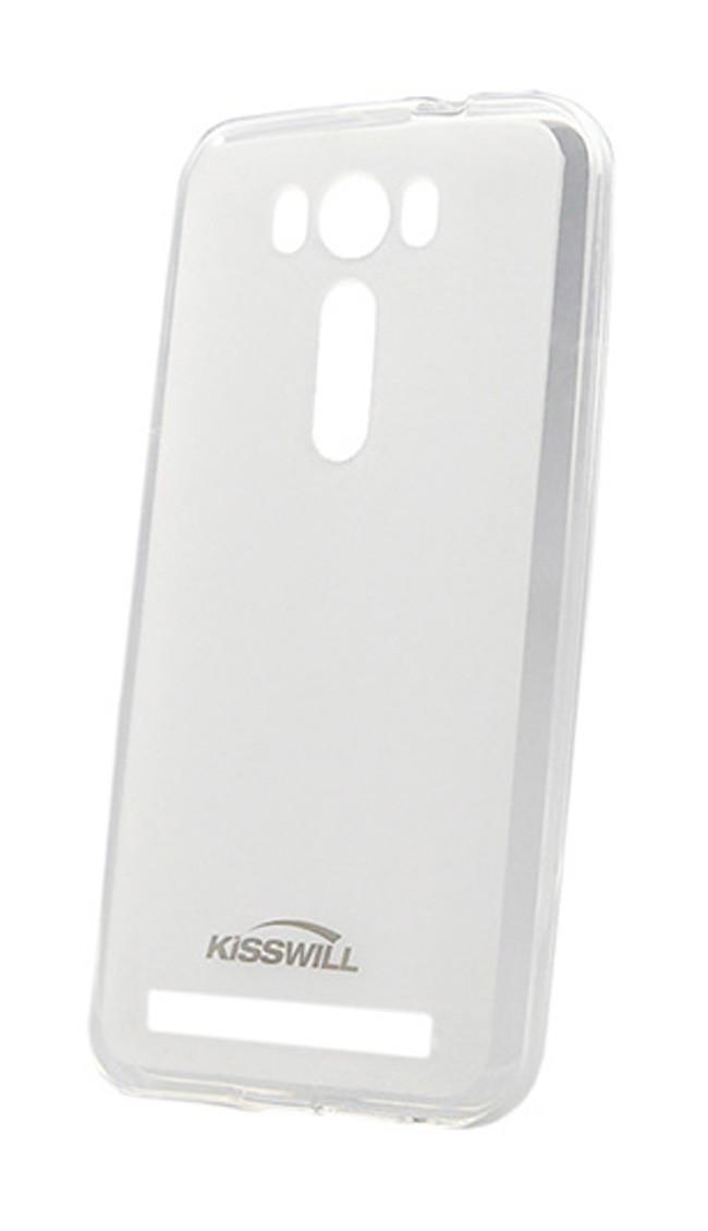 Чехол-накладка Jekod/KissWill для Asus Zenfone 2 Laser ZE550KL силиконовый матовый прозрачно-белыйдля ASUS<br>Чехол-накладка Jekod/KissWill для Asus Zenfone 2 Laser ZE550KL силиконовый матовый прозрачно-белый<br>