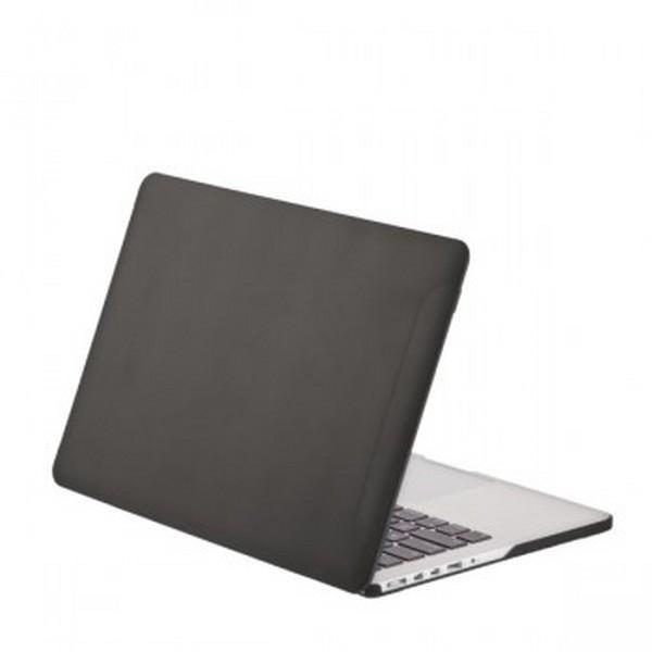 Чехол-накладка BTA-Workshop для Apple MacBook Pro Retina 15 натуральная кож черныйдля Apple MacBook Pro 15 with Retina display<br>Чехол-накладка BTA-Workshop для Apple MacBook Pro Retina 15 натуральная кожа черный<br>
