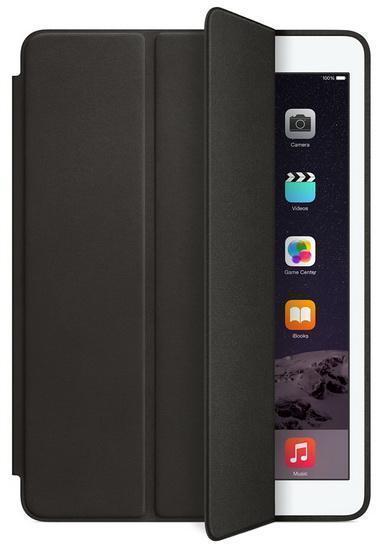 Чехол-книжка Apple Smart Case для Apple iPad Air 2 (натуральная кожа с подставкой) Black