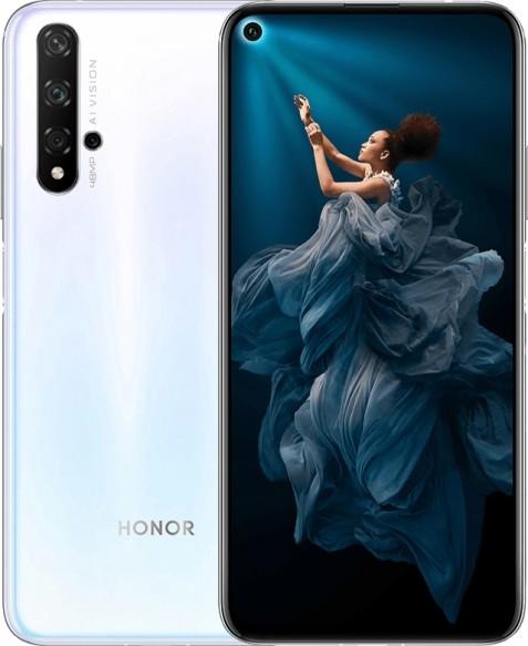 Huawei Honor 20 6/128Gb (Ледяной белый) (YAL-L21) фото
