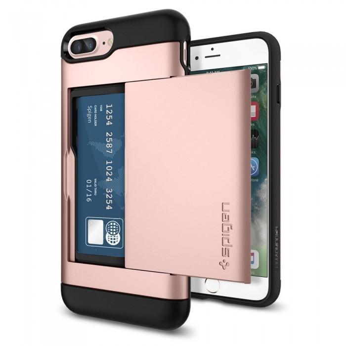 Чехол-накладка Spigen Slim Armor CS для Apple iPhone 7 Plus/8 Plus Rose Gold (SGP043CS20527)для iPhone 7 Plus/8 Plus<br>Чехол-накладка Spigen Slim Armor CS для Apple iPhone 7 Plus/8 Plus Rose Gold (SGP043CS20527)<br>