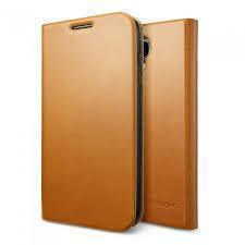 Чехол-книжка Spigen Slim Wallet S SGP10282 для Samsung Galaxy S4 пластик, кожа Светло-коричневыйдля Samsung<br>Чехол-книжка Spigen Slim Wallet S SGP10282 для Samsung Galaxy S4 пластик, кожа Светло-коричневый<br>