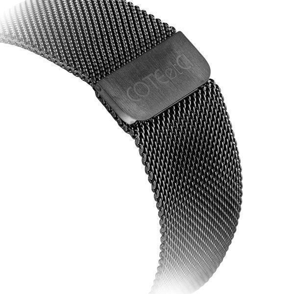 Купить со скидкой Ремешок нержавеющая сталь COTEetCI W6 Magnet WH5203-GC для Apple Watch Series 1/2/3 42mm Графит