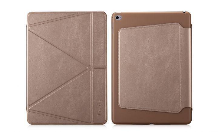 Чехол-книжка The Core Smart Case для Apple iPad Air 2 (силикон полиуретан с подставкой) bronze