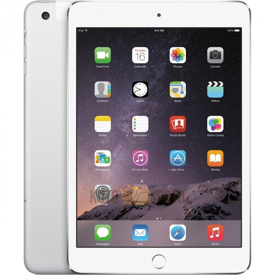 Apple iPad mini 4 128Gb Wi-Fi SilveriPad mini 4<br>Планшет Apple iPad mini 4 128Gb Wi-Fi Silver<br>