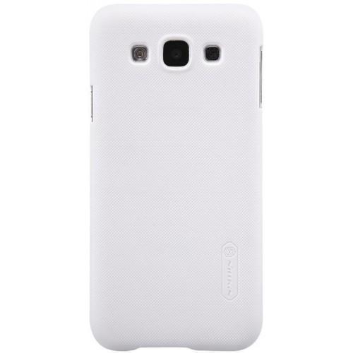 Чехол-накладка Nillkin Frosted Shield для Samsung Galaxy E5 (SM-E500) пластиковый белыйдля Samsung<br>Чехол-накладка Nillkin Frosted Shield для Samsung Galaxy E5 (SM-E500) пластиковый белый<br>