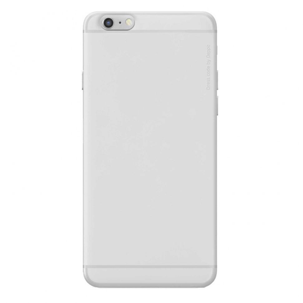 Чехол-накладка Deppa Sky Case 0.4mm для Apple iPhone 6/6S пластиковый прозрачныйдля iPhone 6/6S<br>Чехол-накладка Deppa Sky Case 0.4mm для Apple iPhone 6/6S пластиковый прозрачный<br>