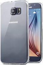 Купить Чехол-накладка Hoco Light Series для Samsung Galaxy S6 Edge (G925F) силиконовый (прозрачно-черный)